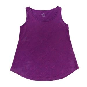Disney Parks 2017 Purple Tank Top, Size XS